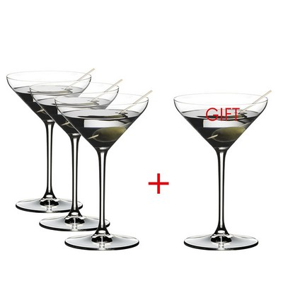 Riedel Extreme MARTINI Value Gift Pack Buy 3 Get 4